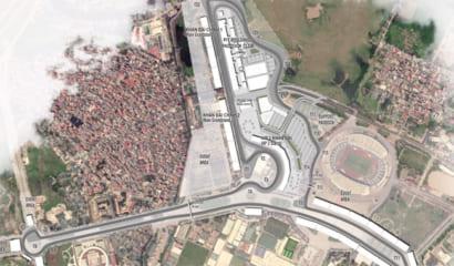 Đường đua công thức F1 phía Tây Hà Nội