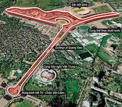 Chính thức phê duyệt đường đua F1