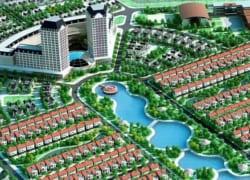 Tổng thể khu đô thị Vườn Cam