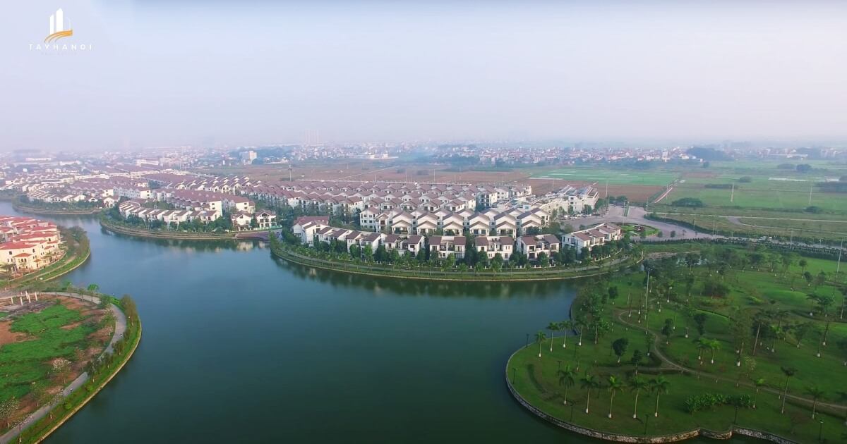Hình ảnh khu đô thị Thăng Long