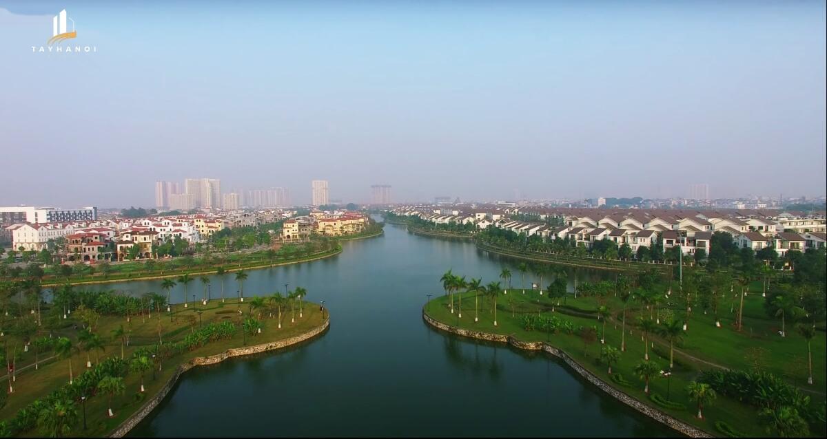 Toàn cảnh khu đô thị mới Nam An Khánh